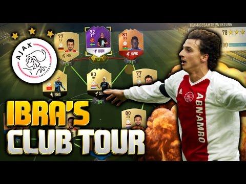 DAS BESTE AJAX AMSTERDAM TEAM IN FIFA 17   Ibra's Club Tour #7