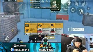 Mortal Played on Sanhok Map | Boom Baam Match | PUBG Mobile