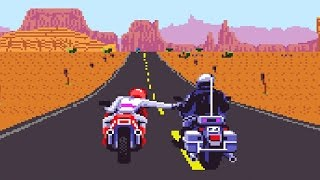 ROAD RASH 2 - Motos e Pancadaria no Mega Drive! (Road Rash II Gameplay)