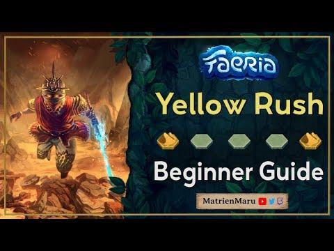Faeria   Beginner Yellow Rush   Guide & Gameplay |