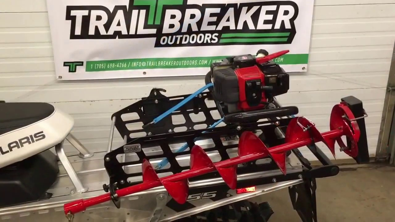 Clam™ ATV Universal Auger Mount - 424247, Ice Augers at ... |Ice Auger Mount