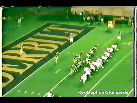 David Palmer Punt Return  Alabama vs Vanderbilt 1991