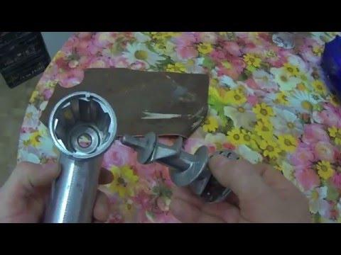Заточка ножа мясорубки в домашних условиях