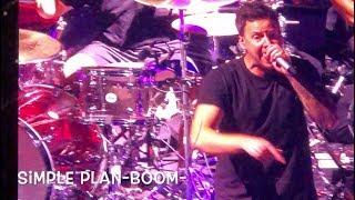 Simple Plan au Centre Vidéotron, le 9 août 2018-Boom-