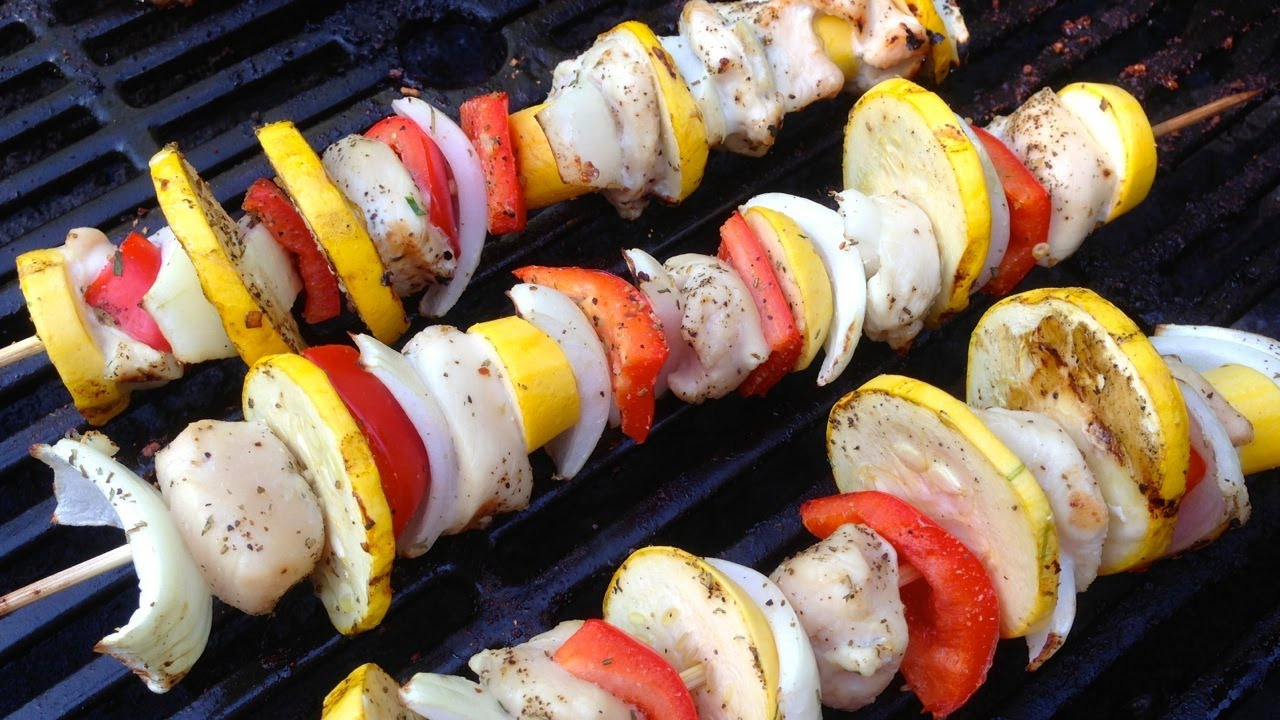 How long do i grill chicken kabobs - Delicious Chicken Kabobs For Grilling