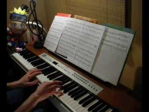 Naruto Shippuuden Outro - Nagareboshi (piano improvisation)