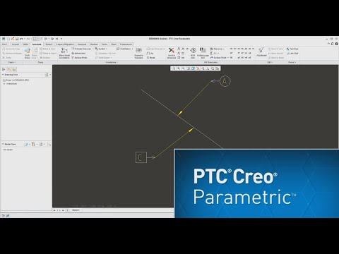Creo 3.0 Tutorial: How to create custom drawing symbol