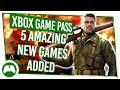 Game Pass Xbox Update | 5 AMAZING New Games Just Added!