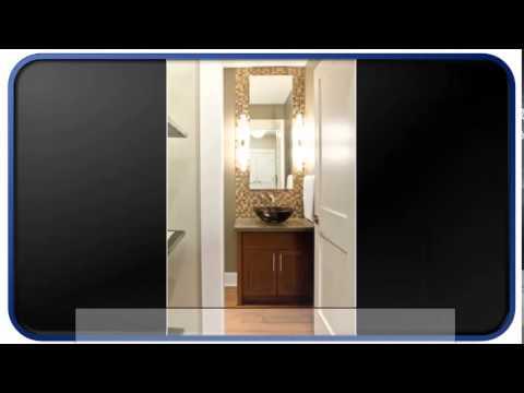 Blue Modern Guest Bathroom Ideas