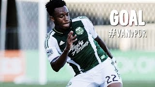 GOAL: Rodney Wallace finishes a beautiful Nagbe pass | Vancouver Whitecaps v Portland Timbers