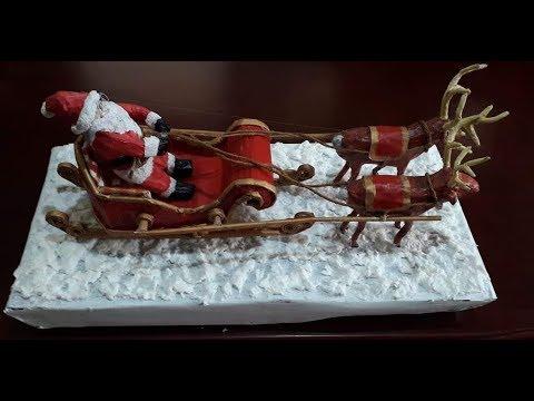 DIY Santa Claus Sleigh....Part 3....Making of Santa Claus.