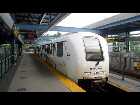 TransLink Millennium Line SkyTrain - Lafarge Lake-Douglas - VCC Clark (2017)