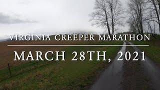 Virginia Creeper Marathon 2021 - State of Franklin Track Club