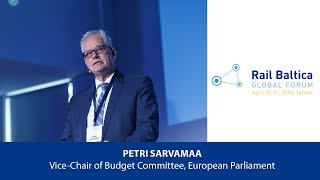 P. Sarvamaa: EU Parliamenalt's Vision and Expectations from the MFF Post-2020 | RBGF 2018 thumbnail