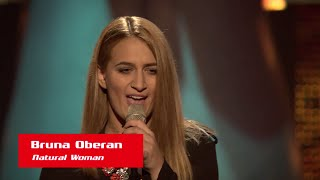 "Bruna Oberan: ""Natural Woman"" - The Voice of Croatia - Season 1 - Blind Auditions 1"