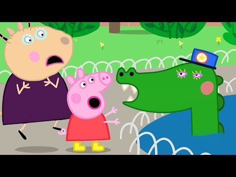 Peppa Pig Official Channel | Meeting Wild Animals with Madame Gazelle