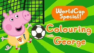 Peppa Pig | Worldcup Special - Colouring for Kids | Learn With Peppa Pig thumbnail