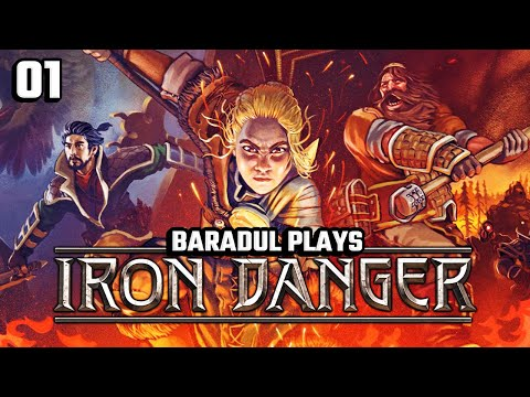 Beautiful Tactical RPG  | Iron Danger | Episode #1