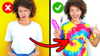 CUSTOMIZING CHALLENGE || Customizing IPhone 11, Shoes! How To TIE DYE T-Shirt By 123 GO! CHALLENGE