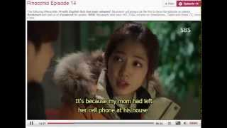 Video Pinocchio ep 14 Eng sub - 피노키오 Ep 14  p2 Eng sub download MP3, 3GP, MP4, WEBM, AVI, FLV Maret 2018