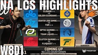 Video NA LCS Highlights ALL GAMES Week 8 Day 1 Full Day Highlights Summer 2018 W7D1 download MP3, 3GP, MP4, WEBM, AVI, FLV Agustus 2018