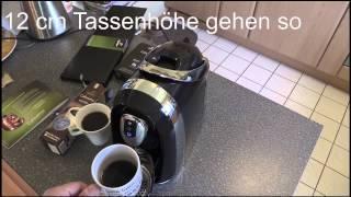 Tchibo Cafissimo Compact Kapselmaschine Deep Black