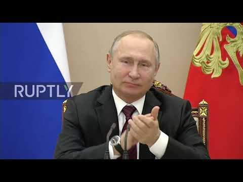 Russia: Putin praises former Kazakh President Nursultan Nazarbayev