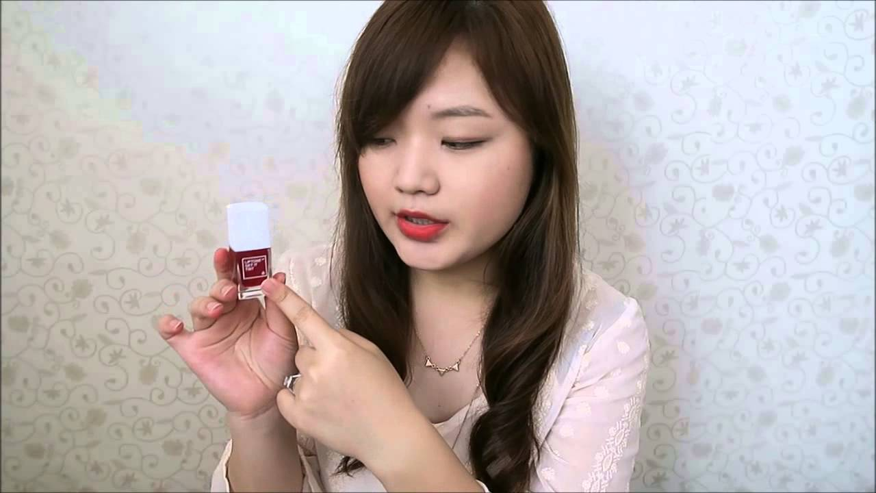 Tony Moly Liptone Get It Tint And Cooling Me Proof Tint Review Youtube