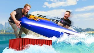 Dodge The Flying Boat Challenge! | GTA5