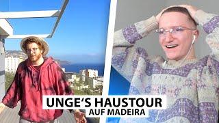 Justin reagiert auf Unges riesiges Haus auf Madeira.. | Reaktion