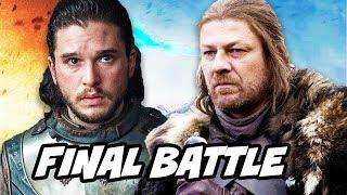 Game Of Thrones Season 8 Jon Snow and Final Battle Theory