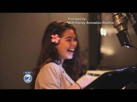 Meet new Disney princess Auli'i Cravalho, star of 'Moana'