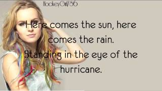 Repeat youtube video Hurricane- Bridgit Mendler (Official Lyrics)