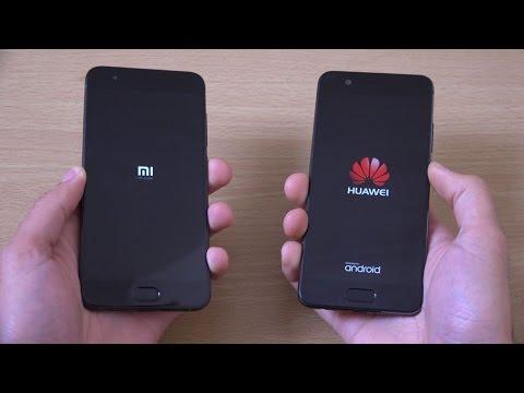 Xiaomi mi6 vs Huawei P10 - Speed Test! - YouTube