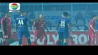 Semifinal Leg 2 Arema vs Semen Padang 5-2 FULL 5 Maret 2017,Cristian Gonzales 5 Gol