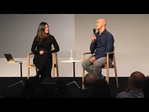 Mindfulness: Headspace Andy Puddicombe & Amy Jo Martin at Apple Store in SoHo