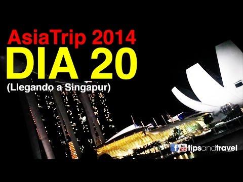 AsiaTrip 2014 - Día 20 Llegando a Singapur desde Kuala Lumpur