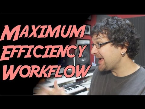 Better Workflow And Productivity Tips For Self Employed Musician
