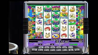 Video Stinkin Rich IGT Pokie Machine - Just Kept Getting Free Spins! - Great Video Slots Win download MP3, 3GP, MP4, WEBM, AVI, FLV Juli 2018