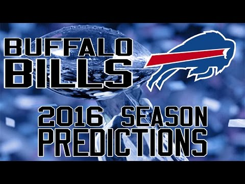 Buffalo Bills 2016 Season Predictions