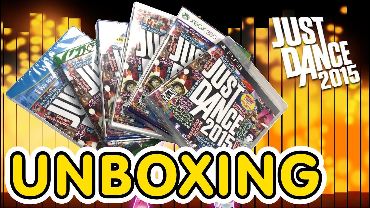 Just Dance 2015 Unboxing!! (PS3 / PS4 / Xbox360 / XboxOne / Wii / WiiU) - YouTube