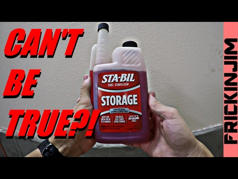 Stabil Fuel Stabilizer (Storage Additive) - No BS Test