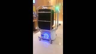 Techmetics Luggage carrier - Techi Robots Take Over Luggage Duties