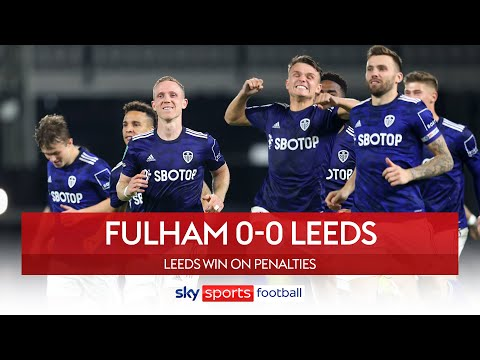 Leeds progress with penalty shootout win! 💪   Fulham 0-0 Leeds   League Cup Highlights