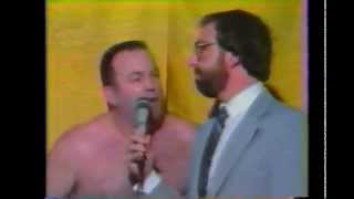 Bruiser Brody Vs  Bulldog Bob Brown (august 27, 1986)