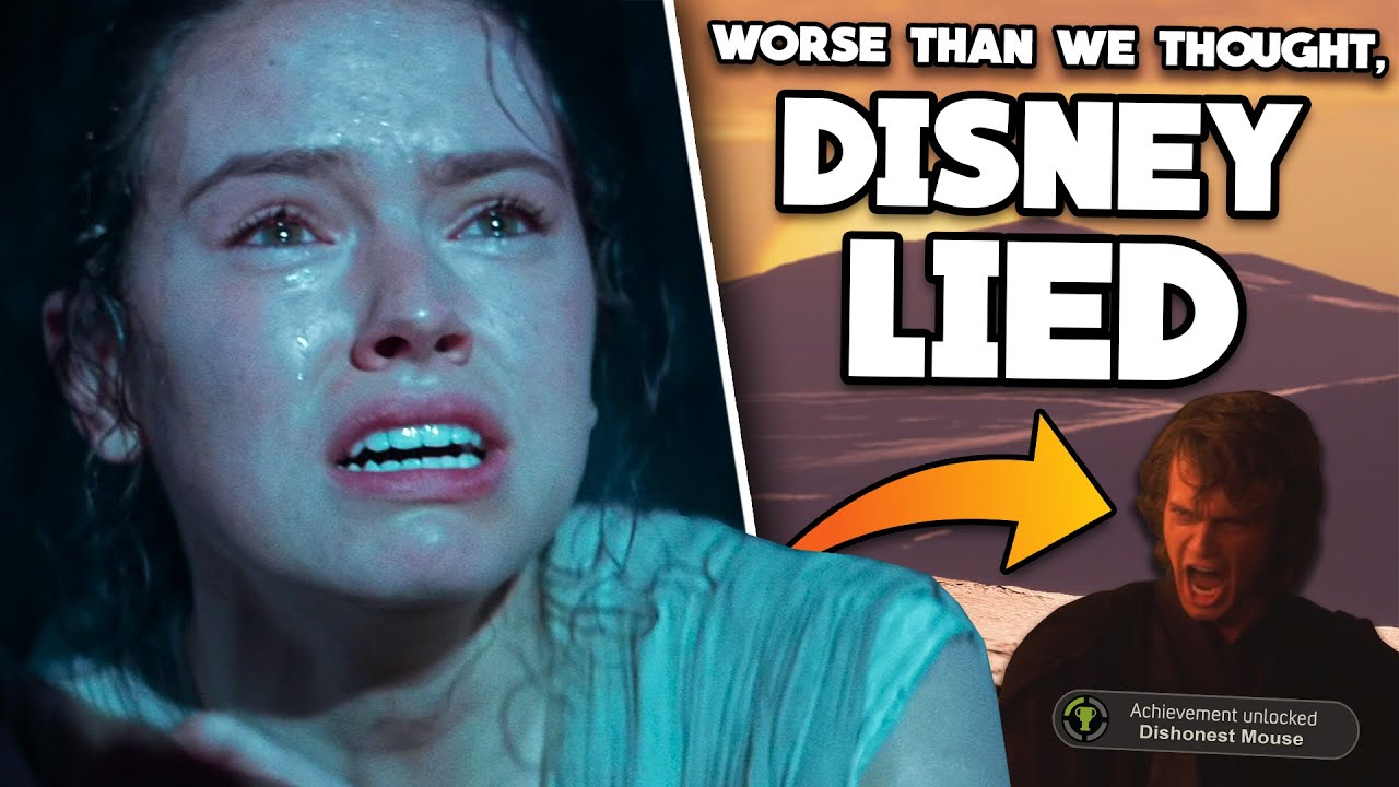 WORSE THAN WE THOUGHT: Disney LIED about the Star Wars Sequel Trilogy from the Very Beginning