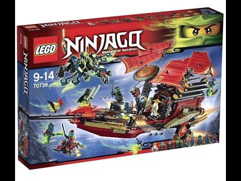 Смотреть LEGO Ninjago 70738 Корабль Дар судьбы.  Решающая битва