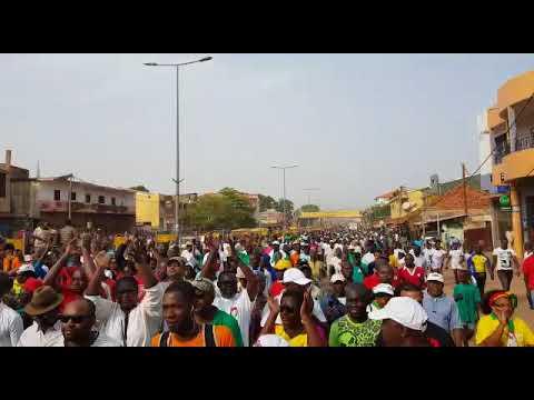 Major Protest March in Bissau 16 November 2017 -1