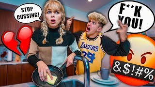 Cussing EVERY SENTENCE To See How My Fiance Reacts... *PRANK*