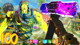 NEW DLC WEAPON - FINALLY GETTING THE SLEDGE HAMMER DARK AETHER CAMO! (COLD WAR ZOMBIES)
